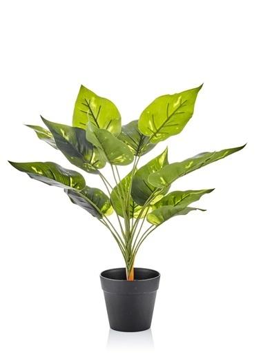 The Mia Yapay Çiçek 40 Cm Saksılı Yeşil